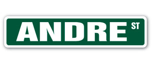 Andre Street Vinyl Decal Sticker