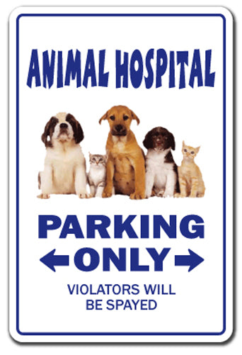Animal Hospital Vinyl Decal Sticker