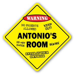 Antonio's Room Vinyl Decal Sticker