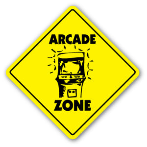 Arcade Zone Vinyl Decal Sticker