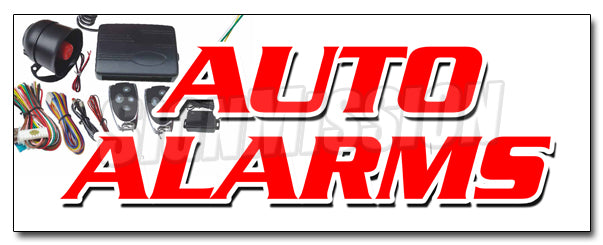 Auto Alarms Decal