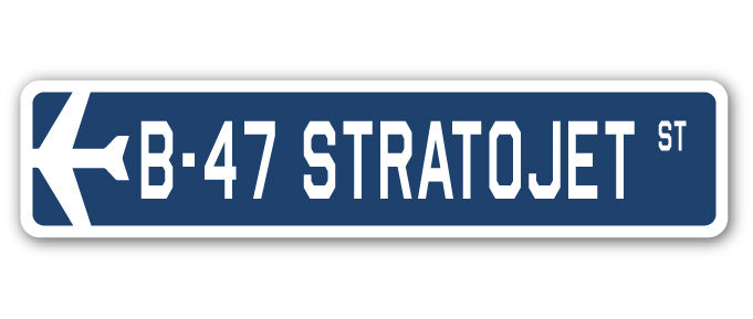 B-47 Stratojet Street Vinyl Decal Sticker