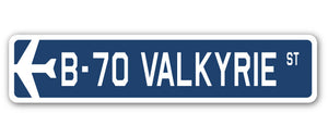 B-70 Valkyrie Street Vinyl Decal Sticker