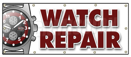 Watch Repair Banner