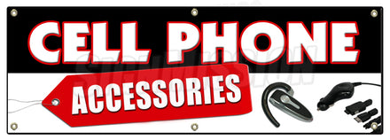 Cell Phones Accessories Banner
