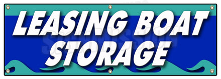 Leasing Boat Storage Banner