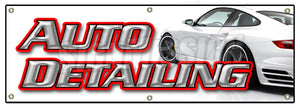 Auto Detailing Banner