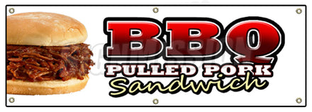 BBQ Pulled Pork Sandwich Banner