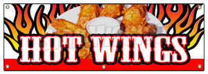 Hot Wings Banner