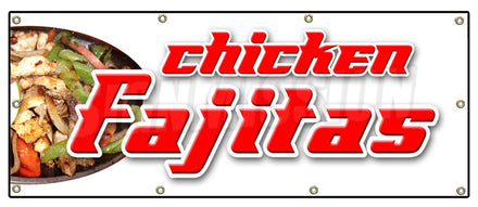 Chicken Fajitas Banner