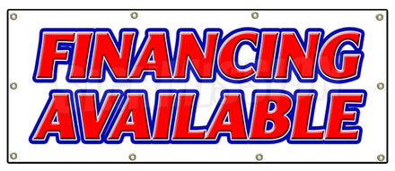 Financing Available Banner