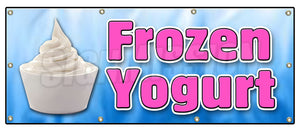 Frozen Yogurt Banner