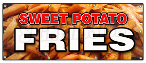 Sweet Potato Fries Banner