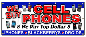 We Buy Cell Phones Banner