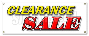 Banner for Clearance Sale