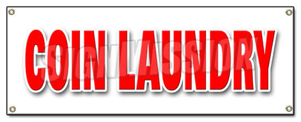 Coin Laundry Banner