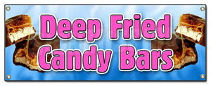 Deep Fried Candy Bars Banner