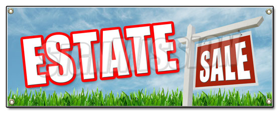 Estate Sale Banner
