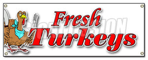 Fresh Turkeys Banner