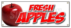 Fresh Apples Banner