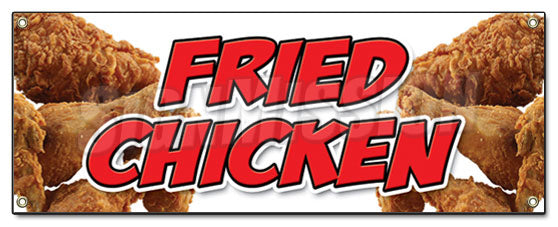 Freid Chicken Banner