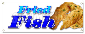 Fried Fish Banner