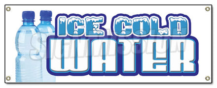 Ice Cold Water Banner