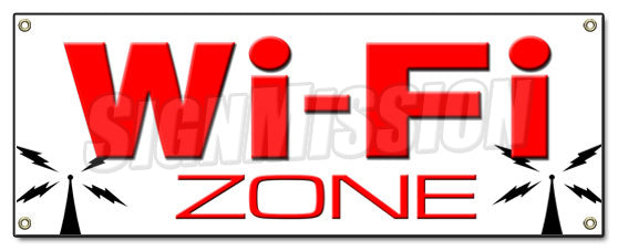 Wifi Zone Banner