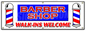 Barber Shop Walk-Ins Wel Banner