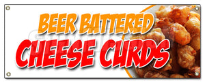 Beer Battered Cheese Cur Banner