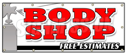 Body Shop Free Estimates Banner