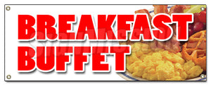 Breakfast Buffet Banner