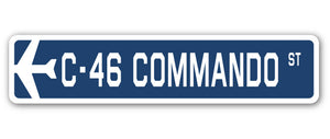 C-46 Commando Street Vinyl Decal Sticker