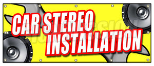 Car Stereo Installation Banner