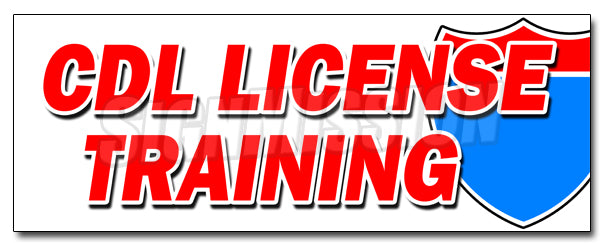 Cdl License Training Decal