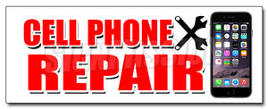 Cell Phone Repair Decal