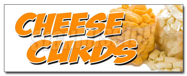 Cheese Curds Decal