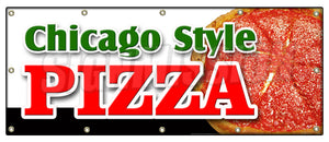 Chicago Style Pizza Banner