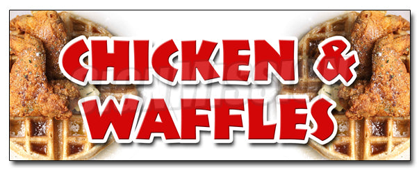 Chicken & Waffles Decal