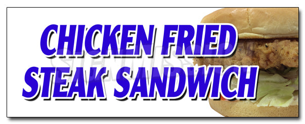 Chicken Fried Steak Sand Decal