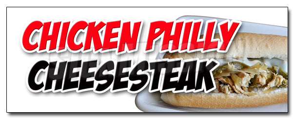 Chicken Philly Cheesestk Decal