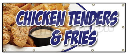 Chicken Tenders & Fries Banner