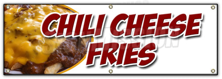 Chili Cheese Fries Banner