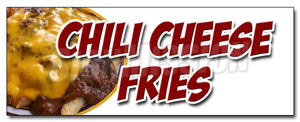 Chili Cheese Fries Decal