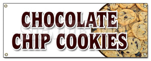 Chocolate Chip Cookies Banner