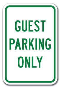 Guest Parking Only
