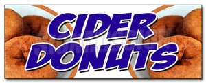 Cider Donuts Decal