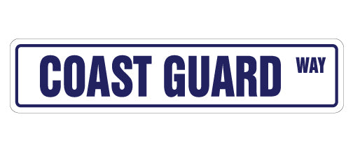 Coast Guard Street Sign