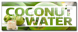 Coconut Water Decal