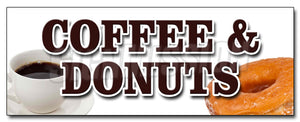 Coffee & Donuts Decal